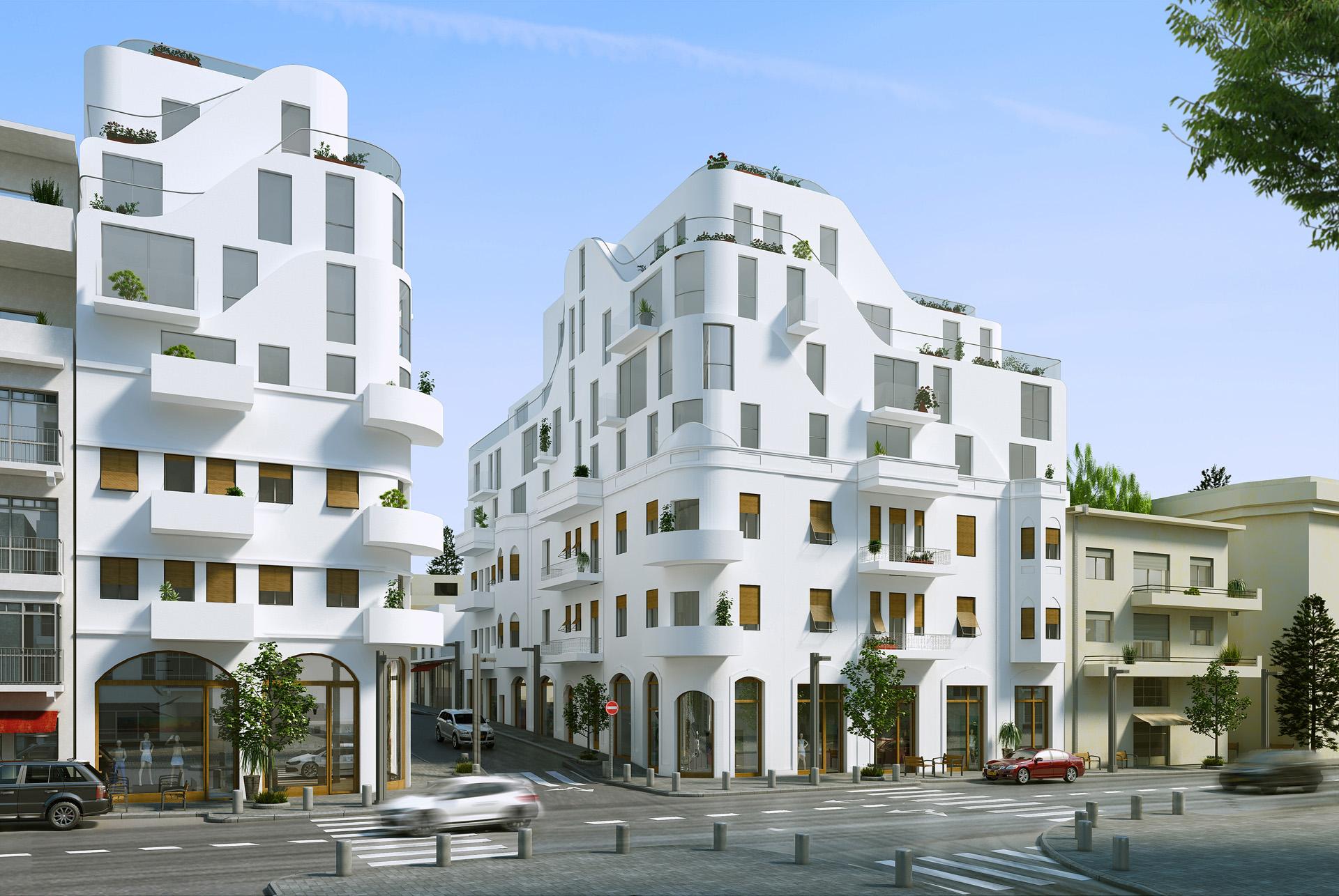 מרענן פרויקט שימור בתל אביב | BENYO ZR-42